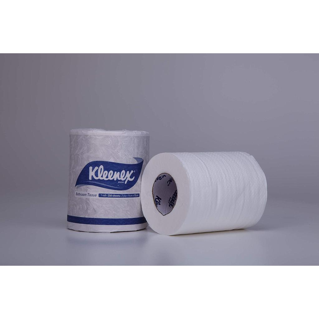1042 Kleenex® Bathroom Tissue,  250 Sheets/Roll (Pack of 100 Rolls)