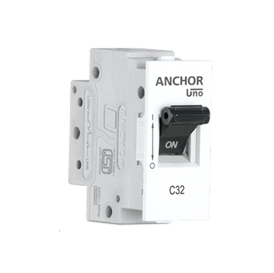 Anchor MINI Modular 10A SP MCB 'C' TYPE
