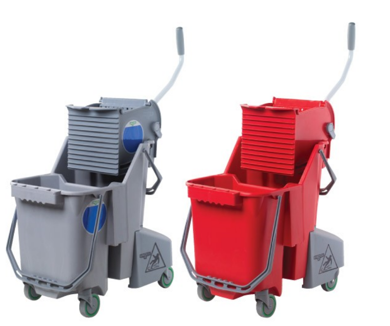 Unger COMBG Smart Colour Bucket With Press 30L (Grey)