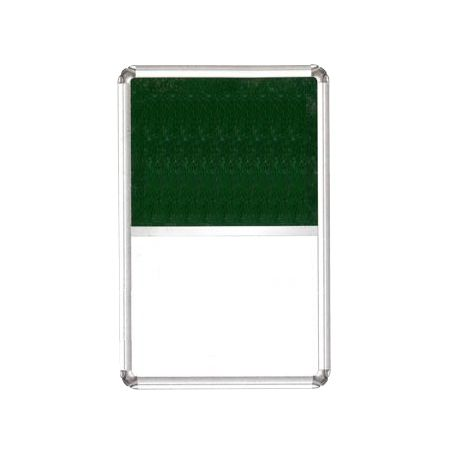 Alkosign Combination Board Half White Magnetic + Pin up 4x6