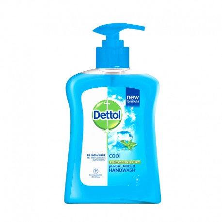 Dettol Hand Wash Pump Cool 225ml