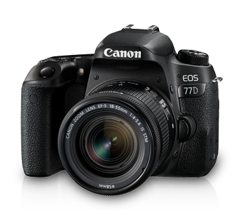 Canon EOS 77D with EF-S18-55mm IS STM
