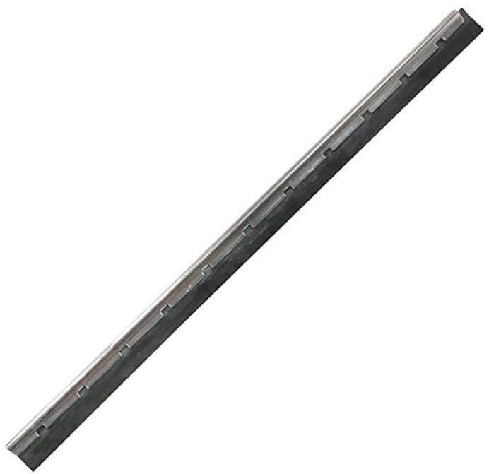 Unger NE15H Stainless steel channel with rubber-15 cm